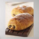 pain au chocolat print