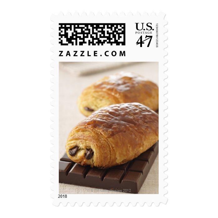 pain au chocolat stamp