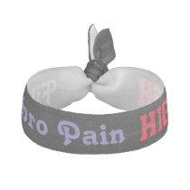 Pain Awareness Fibromyalgia Bracelet Elastic Hair Tie