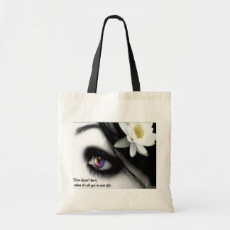 Pain Canvas Totebag Tote Bag