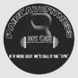 Pain Cave Stickers