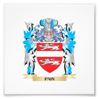 Pain Coat of Arms - Family Crest Photograph