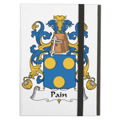 Pain Family Crest iPad Folio Case