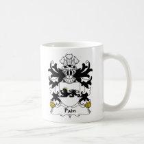 Pain Family Crest Mug