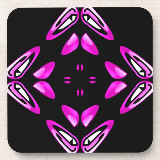 Pain Frustration Abstract Art Drink Coaster