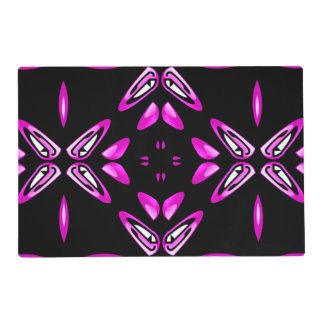 Pain Frustration Abstract Art Laminated Placemat