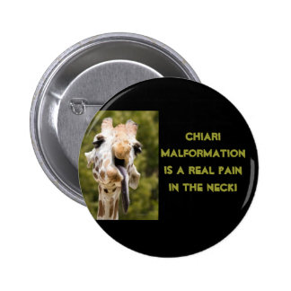 Pain in the Neck Pinback Button