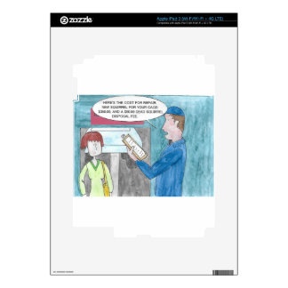 Pain in the Wallet iPad 3 Decal