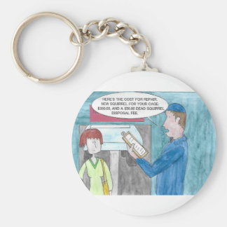 Pain in the Wallet Keychain