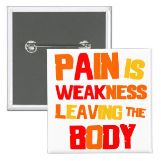 Pain Is... Button