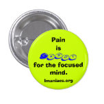 Pain is Candy Button