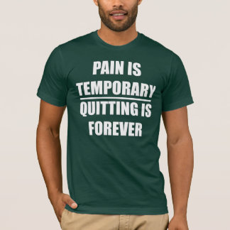 Pain is temporary - Mens Fitness T-shirt