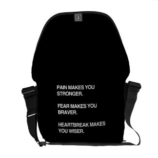 PAIN MAKES YOU STRONGER COMMUTER BAGS