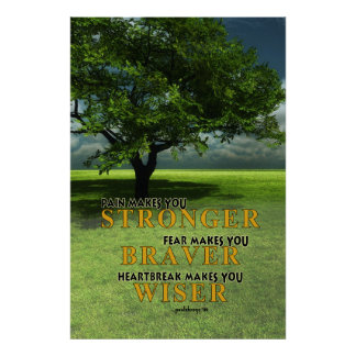 Pain Makes you Stronger Poster