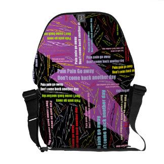 Pain Pain Go Away Courier Bag