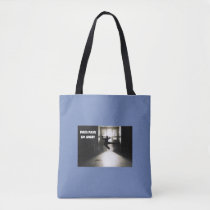 Pain Pain Go Away Fibromyalgia Awareness Tote