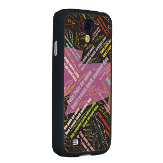 Pain Pain Go Away Carved® Maple Galaxy S4 Case