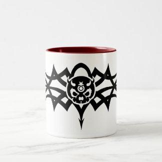 Pain Star Black Tribal Logo Mug