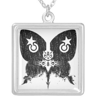 Pain Star Deathhead Necklace