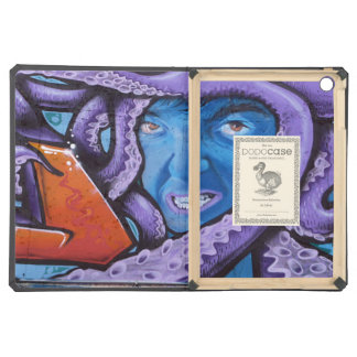 Pain Tentacles Grafitti Cover For iPad Air
