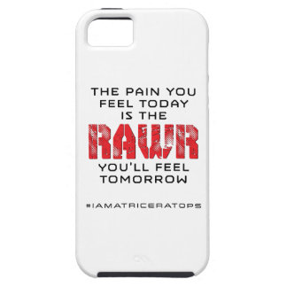 Pain Today - RAWR Tomorrow iPhone 5 Cases