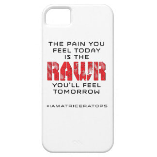 Pain Today - RAWR Tomorrow iPhone 5 Case