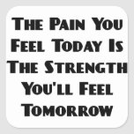 Pain You Feel Today Is the Strength Sticker