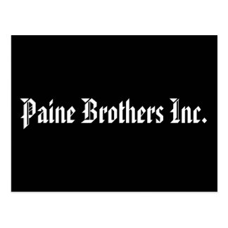 Paine Brothers Inc Post Cards