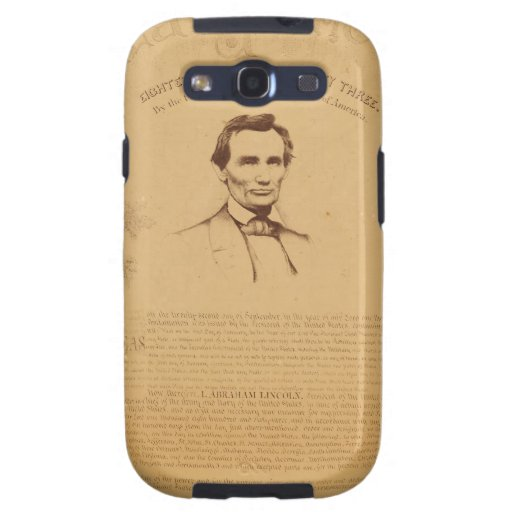 [Paine copy of the Emancipation Proclamation. Copy Samsung Galaxy S3 Covers