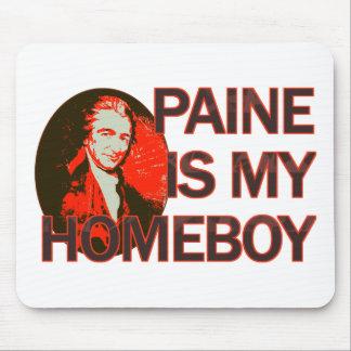 Paine es mi Homeboy Tapetes De Raton