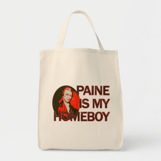 Paine Is My Homeboy Grocery Tote Bag