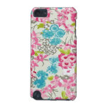 painel de floral augarela funda para iPod touch 5G