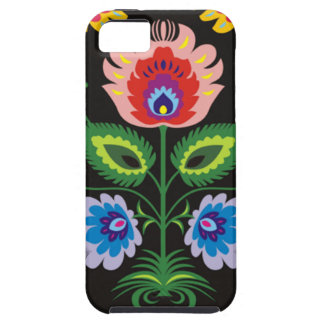 painel del imagem floral iPhone 5 protector