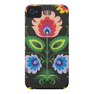 painel del imagem floral iPhone 4 cárcasas