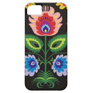 painel del imagem floral iPhone 5 Case-Mate funda