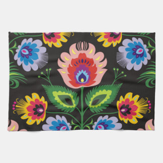 painel del imagem floral toallas
