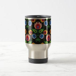 painel del imagem floral tazas de café