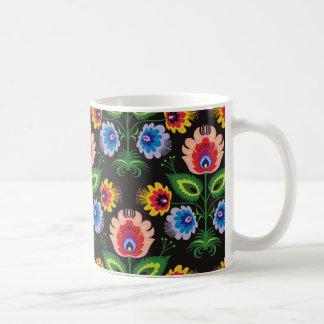 painel del imagem floral tazas