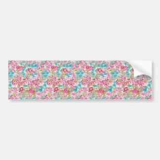 painel floral augarela bumper sticker