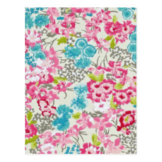 painel floral augarela postcard