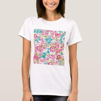 painel floral augarela T-Shirt