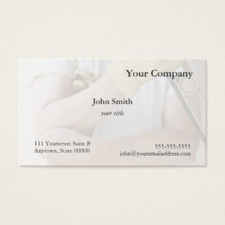painful elbow business card
