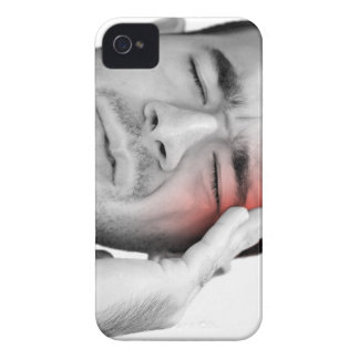Painful Headache Man Healthcare iPhone 4 Case-Mate Case