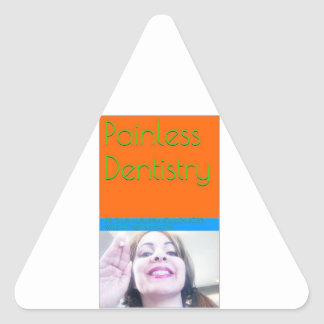 Painless Dentistry eBook/Book Cover Triangle Sticker