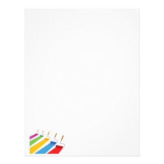 Paint1 Letterhead Design