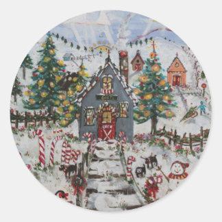 paint3 classic round sticker