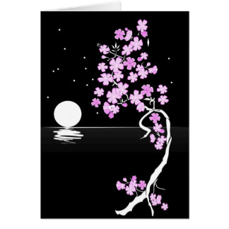 paint-40243  paint moon drawing design tree flower greeting card