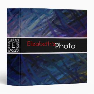 Paint Acrylic Abstract Album Photo #3 3 Ring Binder