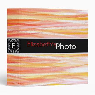 Paint Acrylic Abstract Album Photo #5 3 Ring Binder