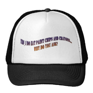 Paint and Crayons Trucker Hats